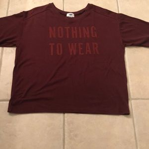 Old Navy - Nothing To Wear T-shirt